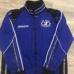 Büyüme için bir başlık ile spor ceket 164. Hediye