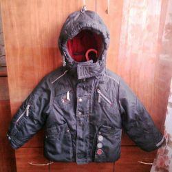 Winter jacket + bib + hat