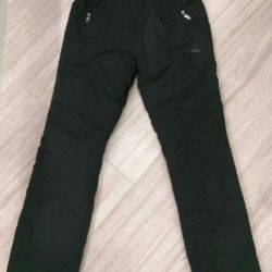 Pants (trousers) bolognevye winter new