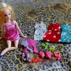 Barbie and new accessories