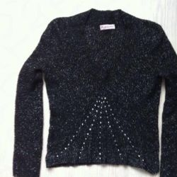 Elegant Lurex Sweater Italy (44-46 size)