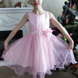 Elegant dress for a matinee in d / s