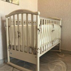 Baby cot PALI + 🎁