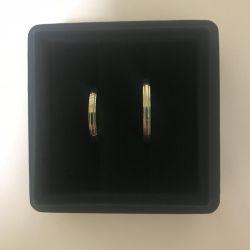 Δαχτυλίδια γάμου Cartier Platinum