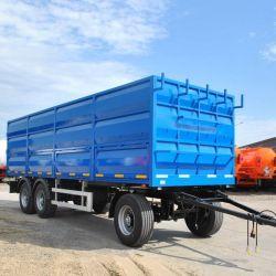 Tractorul de transport de cereale cu 3 osii. 2018