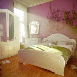 Σετ ύπνου OLGA λευκή γυαλάδα