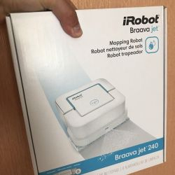 Robot vacuum cleaner iRobot Braava Jet 240
