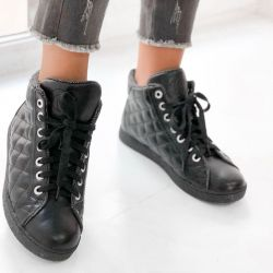 Chanel boots leather new