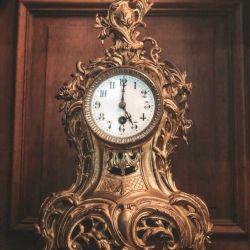 Clock antiques france bronze
