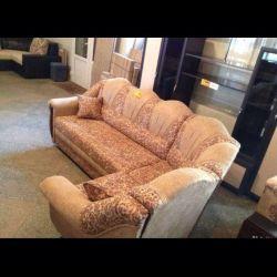 Angular sofa. Angle Interchangeable.