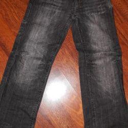 Erkekler için kot pantolon., Deux par deux, t. Gray, boy 116