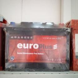 Аккумулятор EUROPLUS 60AH 600A новый