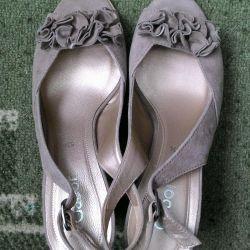Туфли замшевые Gabor