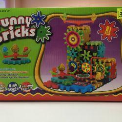 Designer Gear Funny Bricks 81 de copii