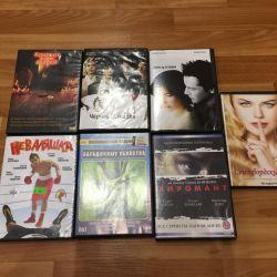 Discuri DVD cu filme pentru 100 de ruble.