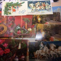 Soviet postcards happy new year!