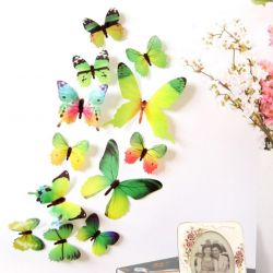 Butterflies are new.