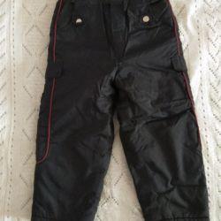 Ζεστά παντελόνια 110-116