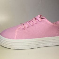 new pink sneakers 38 size