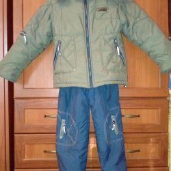 Χειμερινό σακάκι και παντελόνι