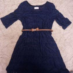 Smart rochie de guipure pentru fete