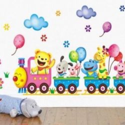 New🎁 ак Sticker in the nursery
