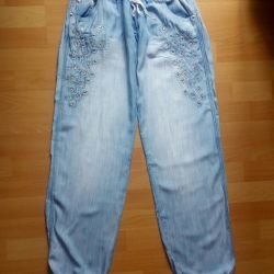 Summer jeans.