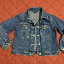 Jacket jeans, children, 7 l.