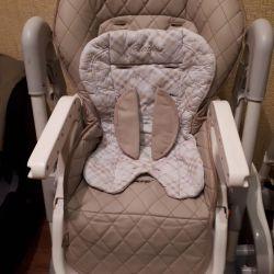 Καρέκλα για τη διατροφή από τη γέννηση
