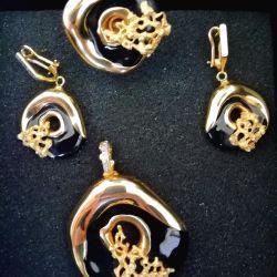 Gold set Graziella Italy