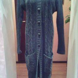 μακρύ πλεκτό πουλόβερ 46-48