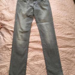 Jeans are gray new!