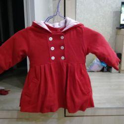 Pelerin + bir kız için elbise