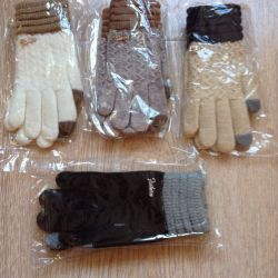New gloves for touch phones