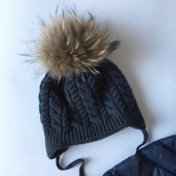 Winter hat in good condition 46-48