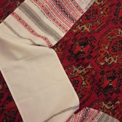 towel (. for wedding)