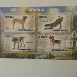 Marka. '' Köpekleri '' engelle. Ruanda