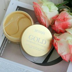Patches KOREA Petitfee Gold Hydrogel Eye Patch