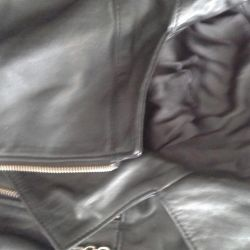 Jacket, leather, leather jacket