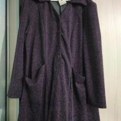 Платье теплое,р 60