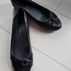 Deri bale ayakkabıları