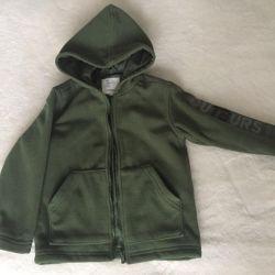 Fleece jacket-hoodies Outburst
