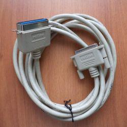 Printer cable Roline LPT 3 m.