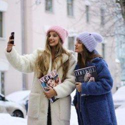 Eco fur coats up to -25 😍🌈🐑