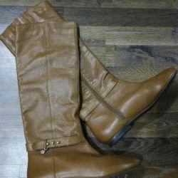 Deri çizme 39