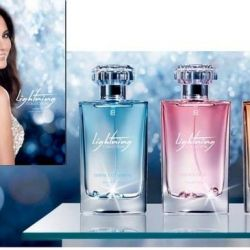 Perfume for women with Swarovski crystals