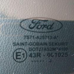 Γυάλινη πόρτα Ford Mondeo IV, αριστερά, πίσω