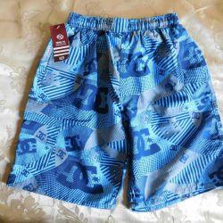 Teenage shorts, blue