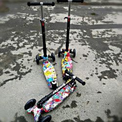 Children's reinforced scooter folding Scooter Maxi