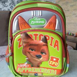 Backpack satchel schoolbag ORTO Zeropolis